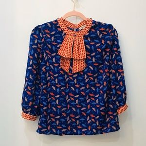 Lucy in the sky Girl's boutique blouse 10